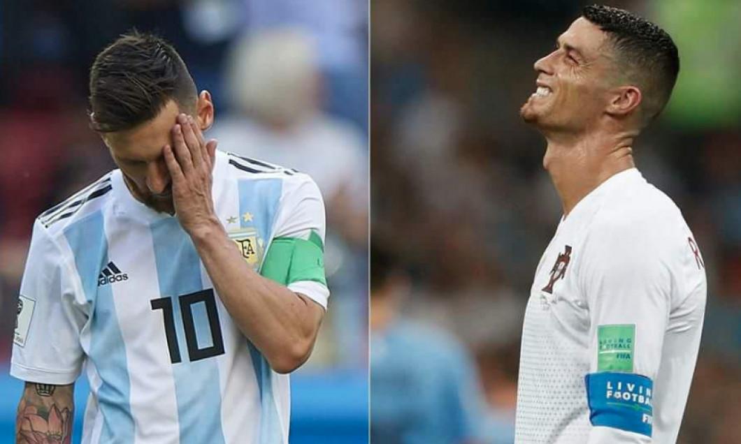 Sfârşitul Unei Ere Ronaldo şi Messi Poate Cei Mai Buni Jucători