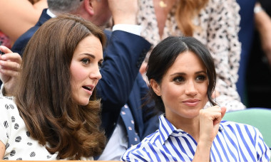 kate middleton meghan markle wimbledon 2018