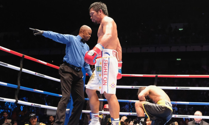Manny Pacquiao v Lucas Matthysse