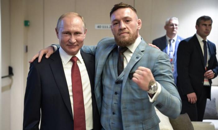 McGregor si Putin