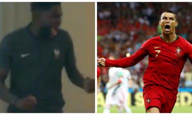 Umtiti si Ronaldo