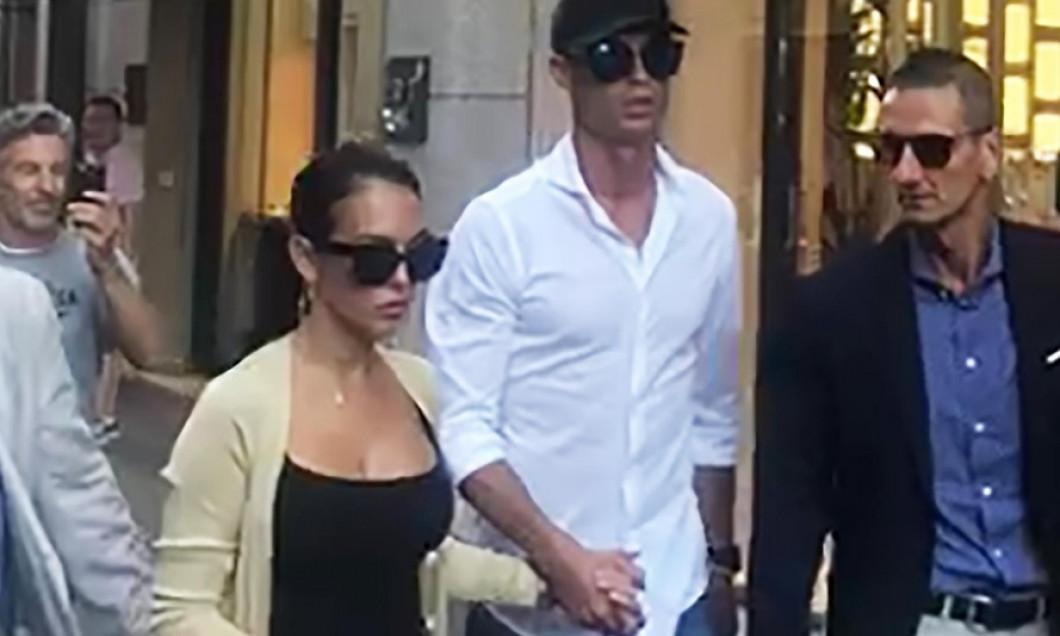Ronaldo, shopping la Milano