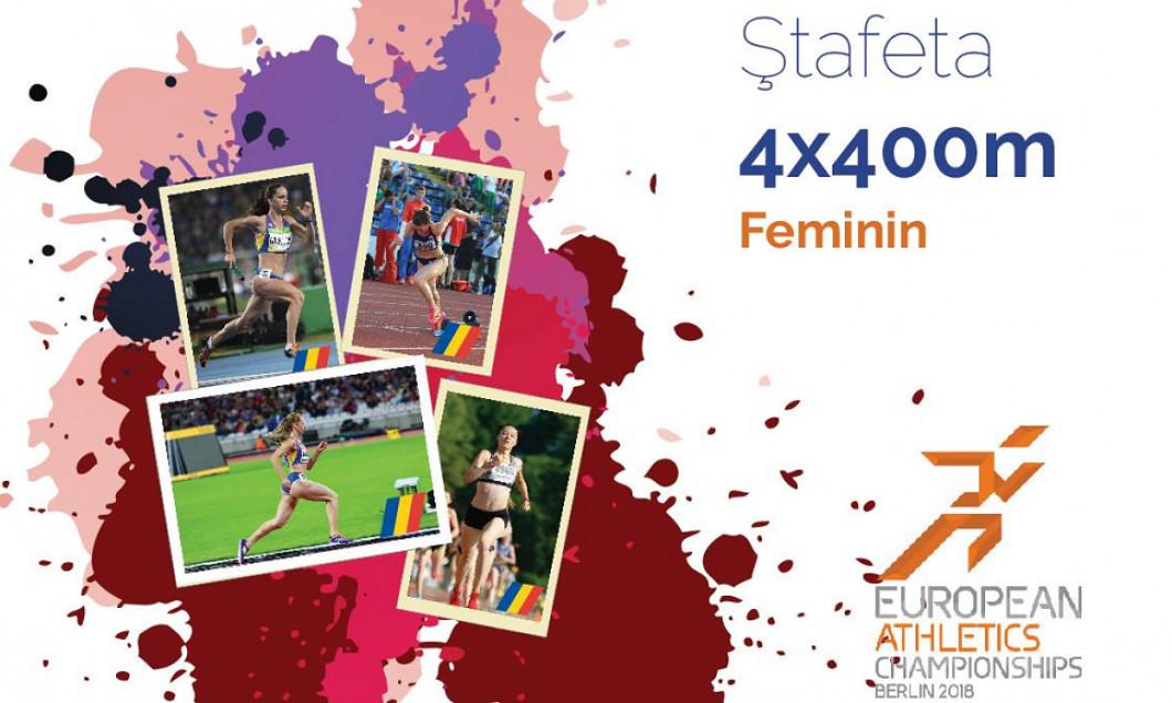 stafeta feminin CE 2018 finala