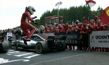 Vettel saritura Belgia final