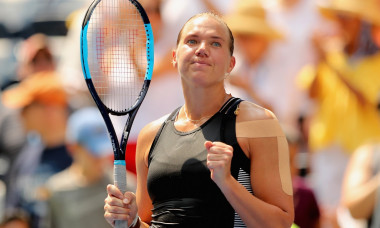 Kaia Kanepi Simona Halep US Open