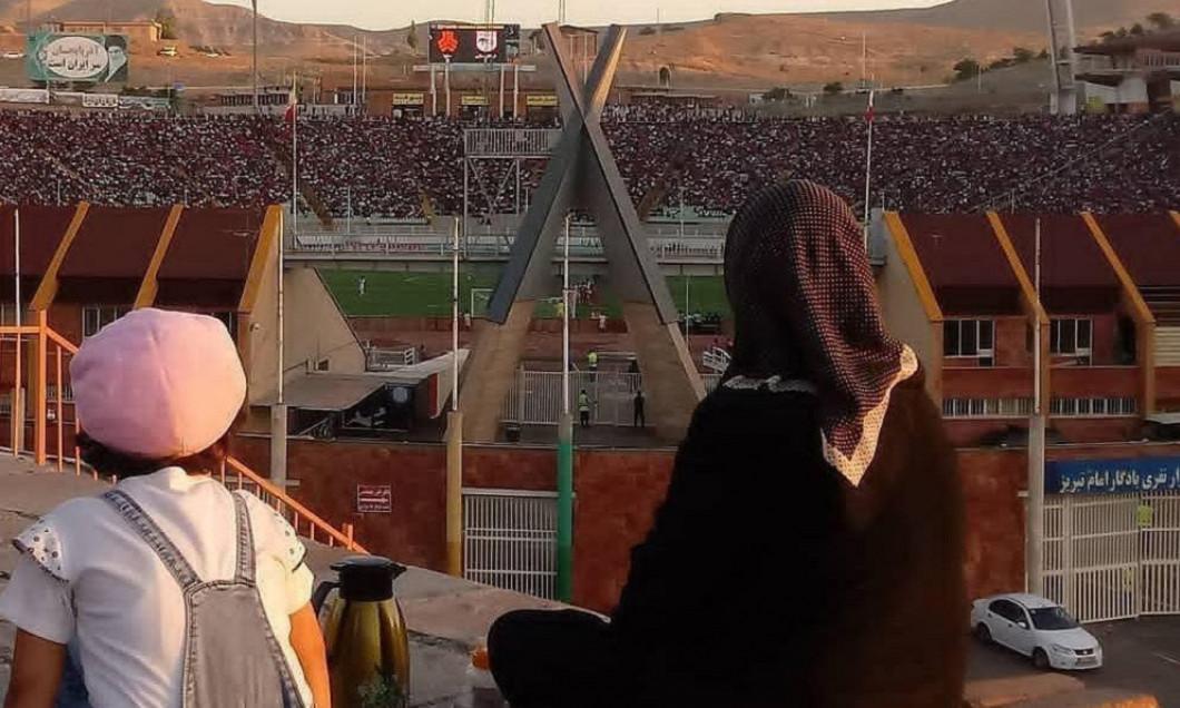 femei iran stadion