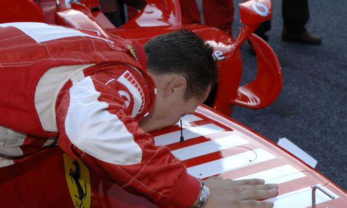 Michael Schumacher Adio Ferrari 2006