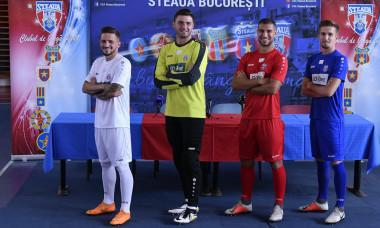 CSA Steaua prezentare echipament