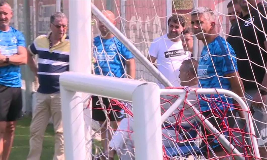 Gigi Becali discută cu MM Stoica și cu Valeriu Argăseală despre strategia transferuriilor la FCSB