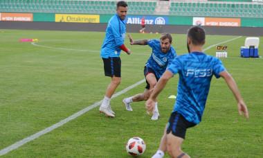 FOTBAL: ANTRENAMENT OFICIAL FCSB INAINTEA MECIULUI CU RAPID VIENA, LIGA EUROPA (22.08.2018)