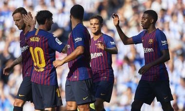 Barcelona record La Liga cu Real Sociedad