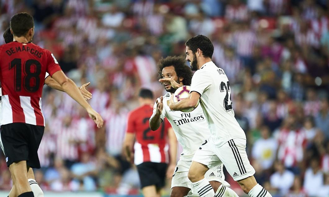 Gol Isco VIDEO ATHLETIC BILBAO - REAL MADRID 1-1
