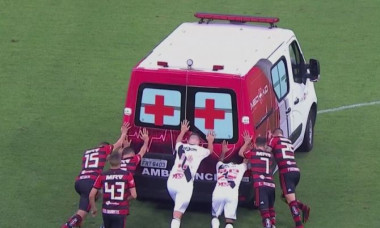 ambulanta vasco flamengo
