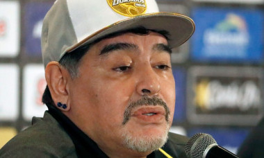 Maradona prezentare Mexic