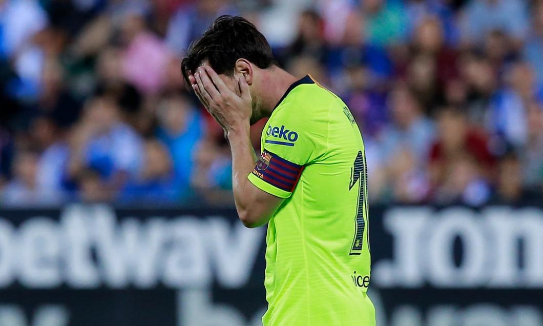 Lionel Messi esec la meciul 7000 pentru Barcelona
