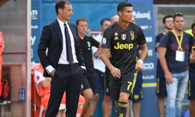 Allegri si Ronaldo
