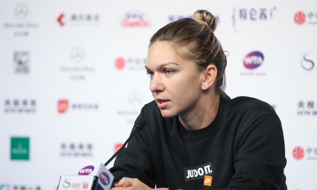 Simona Halep Beijing 2018 traseu