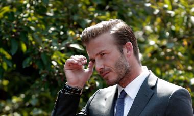 David Beckham Visits China - Day 1
