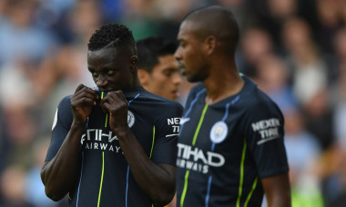 benjamin mendy Manchester City campion mondial