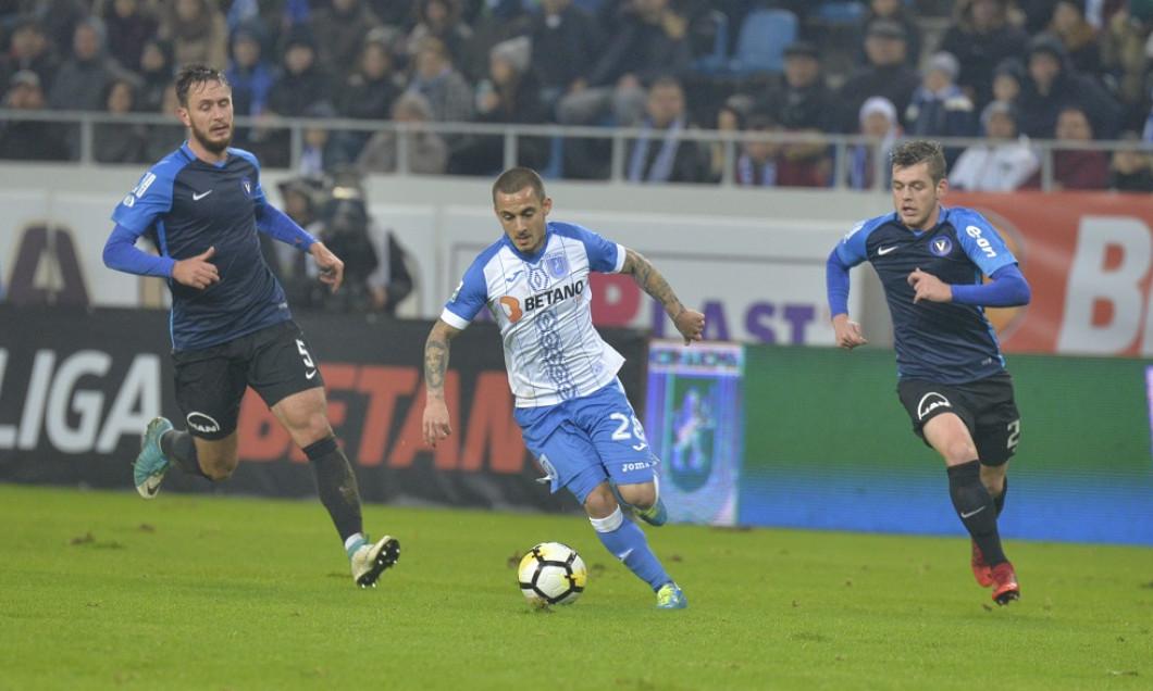 FOTBAL:CS U CRAIOVA-FC VIITORUL, LIGA 1 BETANO (2.12.2017)