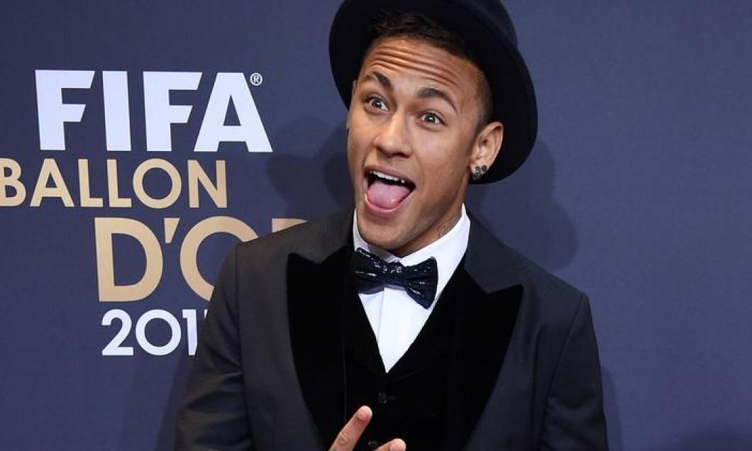Neymar Balon de aur festivitate