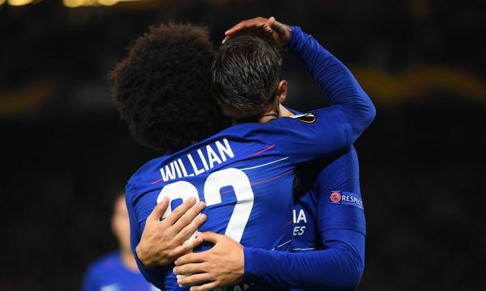 VIDEO Alvaro Morata Chelsea - Vidi 1-0 UEFA Europa League