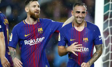Lionel Messi, Paco Alcacer