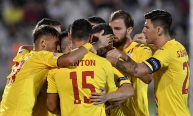 """""""Tricolorii"""" se bucură după golul din Serbia"""