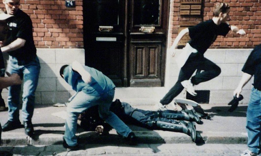 Daniel Nivel jandarmul batut cu salbaticie de huligani