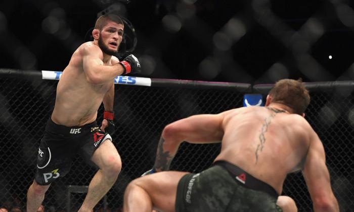 khabib nurmagomedov - conor mcgregor amenda UFC