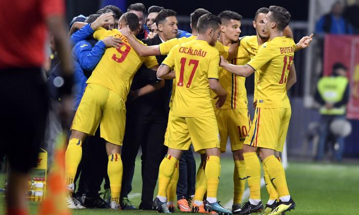 Romania U21 - Liechtenstein U21 4-0. Calificare la Campionatul European 2019