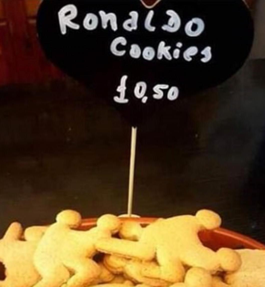 biscuiti ronaldo pret