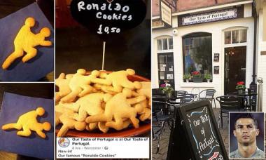 ronaldo cookies