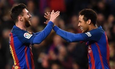 Neymar și Messi