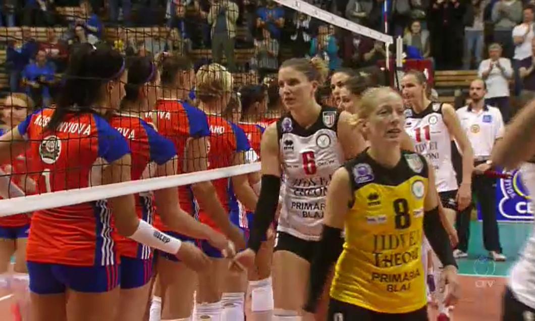 UP Olomouc - Volei Alba Blaj 2-3,