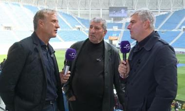 Emil Sandoi, Ion Impuscatoiu ;i Dan Filoti pe stadionul din Craiova