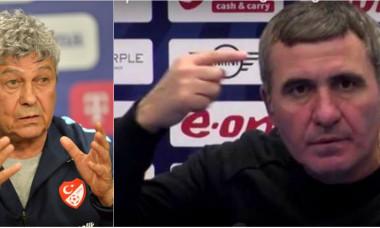Mircea Lucescu și Gică Hagi, două personalități marcante ale sportului românesc