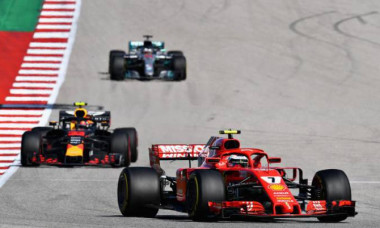 Raikkonen, Verstappen si Hamilton, la finalul MP al SUA