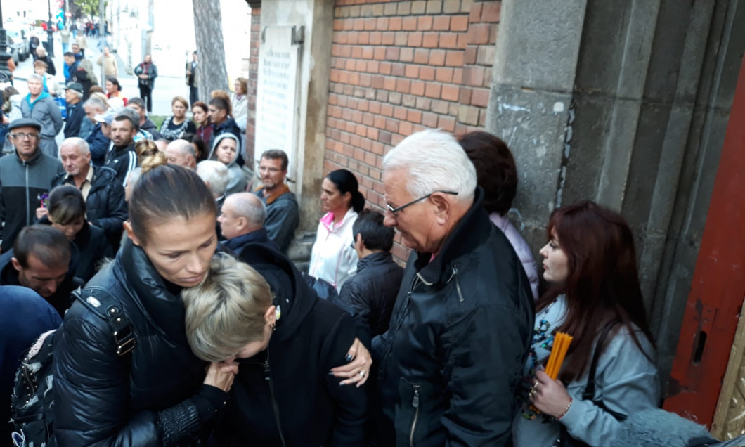 Sicriul lui Ilie Balaci a fost dus la Biserica Sf Ilie din Craiova