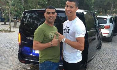 Cristiano Ronaldo si fratele sau