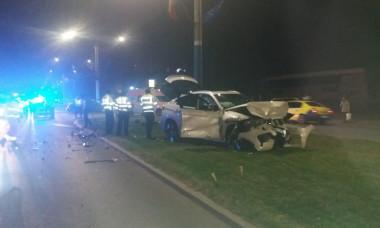 Accident nepot Ilie Balaci poza