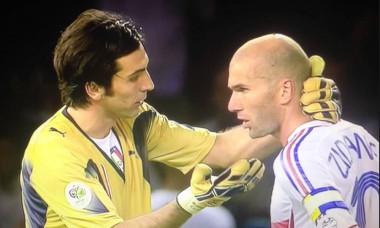Buffon si Zidane in 2006