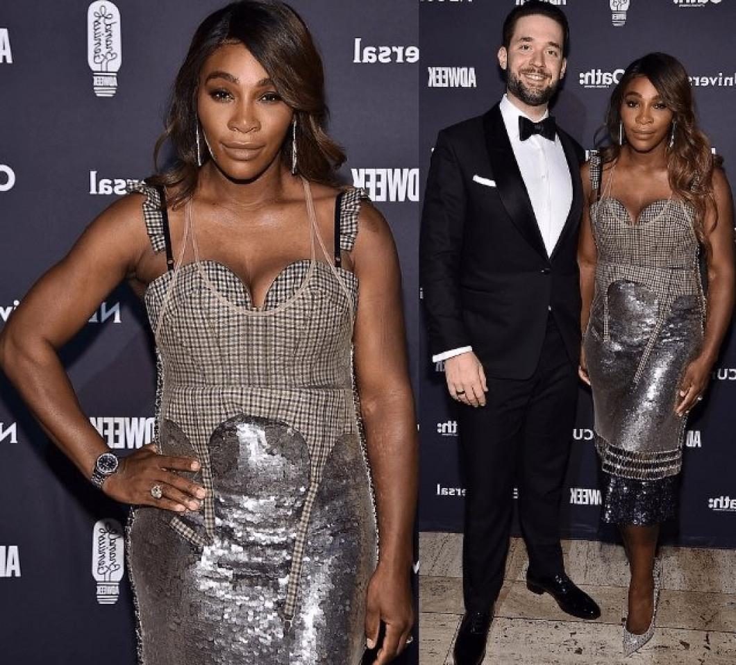 Serena Williams Alexis Ohanian Brand Genius Awards