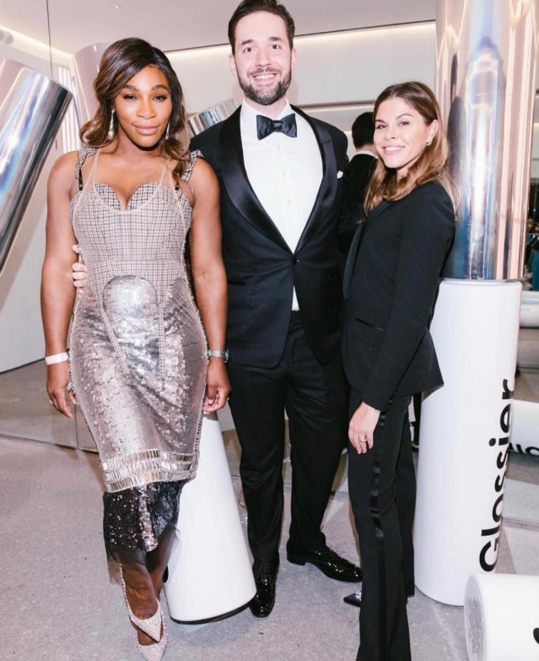 Serena Williams Alexis Ohanian Brand Genius Awards 2018