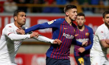 Lenglet la faza golului Barcelonei