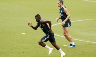 Vinicius si Bale antrenament