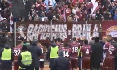 Unirea Slobozia - Rapid 0-1 Liga 3 etapa 13