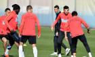 FOTBAL:ANTRENAMENT FCSB INAINTEA MECIULUI CU DINAMO (10.11.2018)