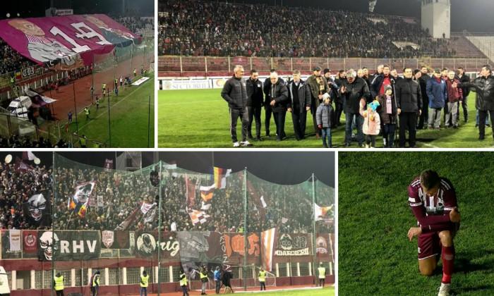 Rapidiștii și-au luat adio de la stadion Giulești. Pancu s-a retras, a jucat ultimul meci din cariera fotbalistica