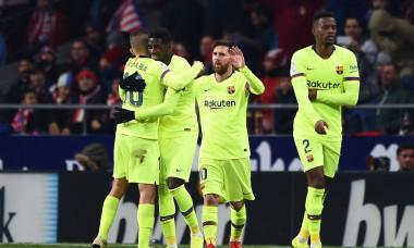 Club Atletico de Madrid v FC Barcelona - La Liga